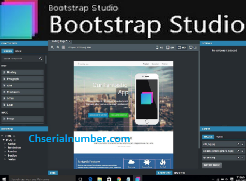 Bootstrap Studio 5.5.3 Crack Latest License Key Download 2021